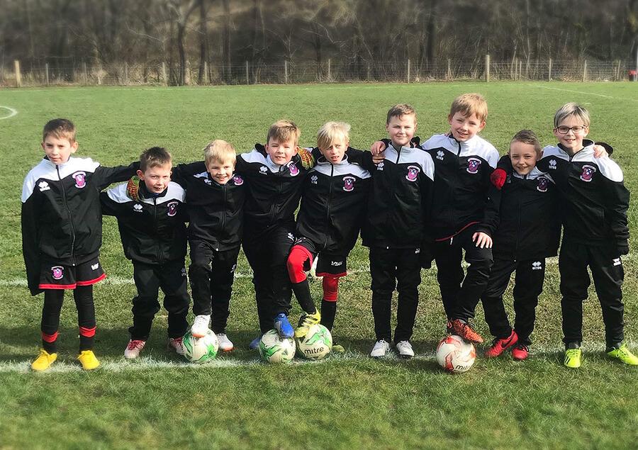 Lesmahagow Football Club 2010 team